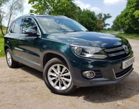 USED 2014 63 VOLKSWAGEN TIGUAN 2.0 SE TDI BLUEMOTION TECHNOLOGY 5d 138 BHP