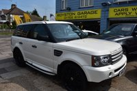 USED 2008 58 LAND ROVER RANGE ROVER SPORT 3.6 TDV8 SPORT HSE 5d AUTO 269 BHP THE CAR FINANCE SPECIALIST