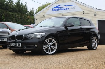 2013 BMW 1 SERIES 2.0 118D SPORT 3d 141 BHP £9950.00