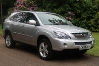 2008 LEXUS RX 3.3 400H SE CVT 5d AUTO 208 BHP £9000.00