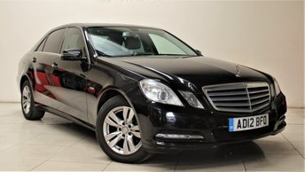 2012 MERCEDES-BENZ E CLASS 2.1 E220 CDI BLUEEFFICIENCY S/S SE 4d AUTO 170 BHP £9999.00