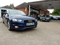 2014 AUDI A4 2.0 TDI S LINE START/STOP 4d AUTO 148 BHP £12990.00