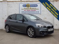 USED 2015 65 BMW 2 SERIES 2.0 220I M SPORT ACTIVE TOURER 5d AUTO 189 BHP Full BMW History NAV Leather 0% Deposit Finance Available