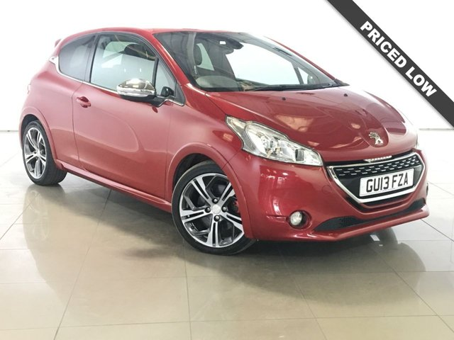 View our 2013 13 PEUGEOT 208 1.6 THP GTI 3d 200 BHP