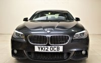 USED 2012 12 BMW 5 SERIES 2.0 520D M SPORT 4d AUTO 181 BHP + 2 PREV OWNER +  SAT NAV + AIR CON + BLUETOOTH