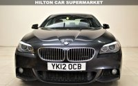 USED 2012 12 BMW 5 SERIES 2.0 520D M SPORT 4d AUTO 181 BHP + 2 PREV OWNER +  SAT NAV + AIR CON + BLUETOOTH