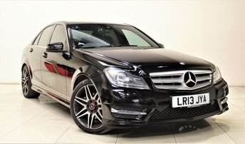 2013 MERCEDES-BENZ C CLASS 2.1 C250 CDI BLUEEFFICIENCY AMG SPORT PLUS 4d AUTO 202 BHP £13499.00