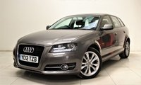 USED 2012 12 AUDI A3 2.0 SPORTBACK TDI SPORT 5d 138 BHP + 1 PREV OWNER  + AIR CON + AUX + BLUETOOTH + SERVICE HISTORY