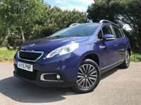 USED 2015 15 PEUGEOT 2008 1.2 ACTIVE 5d AUTO 82 BHP AUTOMATIC!!! ONE OWNER!!! LOVELY CAR CHEAP TO RUN!!!