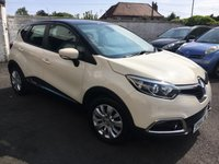 USED 2014 64 RENAULT CAPTUR 1.5 EXPRESSIONPLUS CONVENIENCE ENERGYTCE S/S 5d 90 BHP Latest Engine with ZERO Road Tax