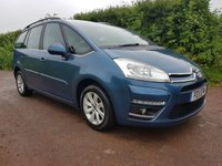 2011 CITROEN C4 GRAND PICASSO 1.6 VTR PLUS HDI 5d 110 BHP £5295.00