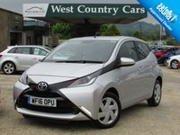 USED 2016 16 TOYOTA AYGO 1.0 VVT-I X-PLAY 5d 69 BHP Demo + 1 Private Owner From New