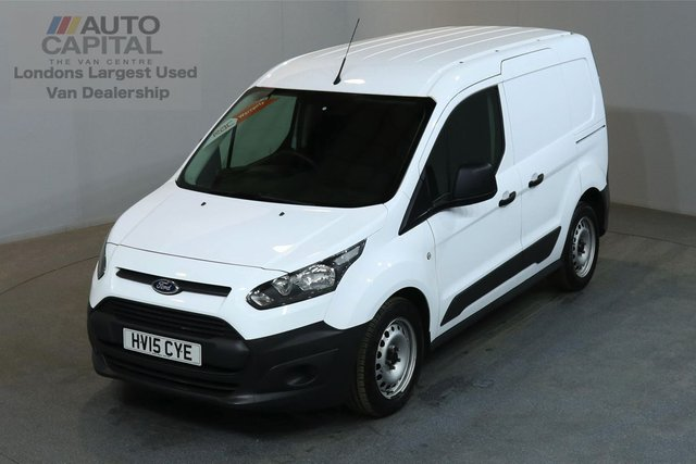 2015 15 FORD TRANSIT CONNECT 1.6 200 74 BHP L1 H1 SWB LOW ROOF ONE OWNER FROM NEW, SPARE KEY