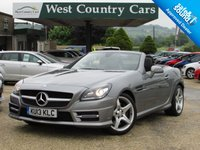 USED 2013 13 MERCEDES-BENZ SLK 2.1 SLK250 CDI BLUEEFFICIENCY AMG SPORT 2d AUTO 204 BHP Superb Condition Throughout