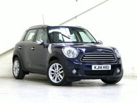 2014 MINI COUNTRYMAN 2.0 COOPER D 5d AUTO 110 BHP [CHILI PACK] [MEDIA PACK] [VAT Q] £12786.00