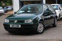 1998 VOLKSWAGEN GOLF 1.6 SE 5d AUTO 99 BHP £2990.00