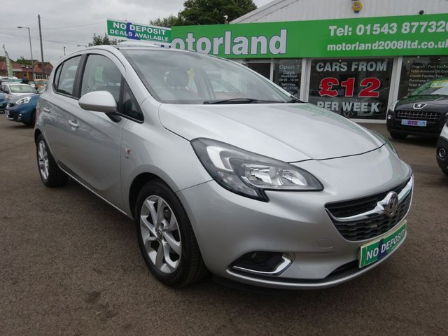 USED 2015 65 VAUXHALL CORSA 1.4 SRI ECOFLEX 5d 89 BHP CALL TODAY ON 01543 877320 TO TEST DRIVE