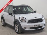 USED 2015 15 MINI COUNTRYMAN 1.6 COOPER 5d 122 BHP 1 Owner, Full Mini Service History, MOT until March 2019, Parking Sensors, Bluetooth, Air Conditioning, USB/AUX, 2 Keys. Free RAC Warranty. Free RAC Breakdown Cover