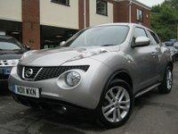USED 2011 11 NISSAN JUKE 1.6 ACENTA PREMIUM 5d AUTO 117 BHP