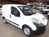 2011 PEUGEOT BIPPER 1.4 HDI S 68 BHP-ONE OWNER WITH SERVICE HISTORY £4195.00