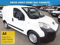 USED 2011 61 PEUGEOT BIPPER 1.4 HDI S 68 BHP-ONE OWNER WITH SERVICE HISTORY '' YOU'RE IN SAFE HANDS '' WITH THE AA DEALER PROMISE