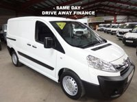 USED 2016 16 CITROEN DISPATCH 1.6 1000 L1H1 ENTERPRISE VAN HDI SERVICE HISTORY  ONE OWNER WITH LOW MILEAGE AIR CON-TWIN SIDE DOORS-SAT NAV
