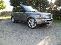 2007 LAND ROVER RANGE ROVER SPORT 3.6 TDV8 SPORT HSE 5d AUTO 269 BHP £9995.00