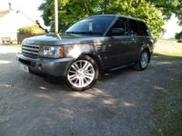 USED 2007 07 LAND ROVER RANGE ROVER SPORT 3.6 TDV8 SPORT HSE 5d AUTO 269 BHP FANTASTIC EXAMPLE. TV. FRIDGE. SUNROOF. ONLY 1 OWNER.