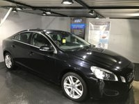 USED 2012 62 VOLVO S60 1.6 D2 SE LUX 4d AUTO 113 BHP Bluetooth  :  Full leather upholstery : Heated front seats      :      Electric/Memory driver's seat      :      Volvo City safety system      : Rear parking sensors   :   Full Volvo main dealer service history