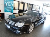 "USED 2008 08 MERCEDES-BENZ SL 3.5 SL350 SPORT EDITION 2d AUTO 272 BHP This Mercedes SL350 hard/soft top with panoramic sunroof as well as convertible option Sport Edition is finished in Metallic Obsidian Black with Black full leather electric memory heated with massage pulse function seats. It is fitted with power steering, remote locking, electric windows mirrors with power fold, climate control, cruise control, Mercedes Command Satellite Navigation, BOSE, tinted glass, xenon lamps, 19"" 5 spoke Alloys with rim protectors, and more"
