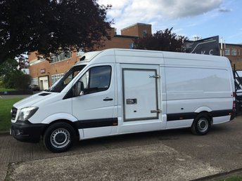 2014 MERCEDES-BENZ SPRINTER 2.1 313CDI LWB FRIDGE FREEZER VAN 130BHP. 24HR STANDBY £14990.00