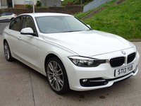 USED 2013 13 BMW 3 SERIES 2.0 318D SPORT 4d 141 BHP 1 PREVIOUS KEEPER + BLUETOOTH +  FULL YEAR MOT +  PARKING SENSORS +  DAB RADIO +  CRUISE CONTROL