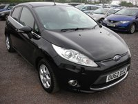 USED 2012 62 FORD FIESTA 1.6 TITANIUM ECONETIC II TDCI 5d 94 BHP 1 Previous owner  - Free road tax - FSH - 60+ mpg