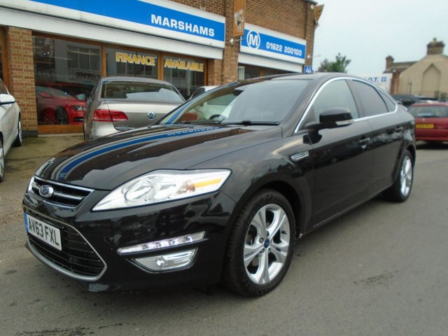 2013 63 FORD MONDEO 2.0 TITANIUM X BUSINESS EDITION TDCI 5d 138 BHP