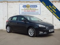 USED 2014 64 FORD FOCUS 1.6 TITANIUM 5d AUTO 124 BHP Full Ford History SATNAV DAB 0% Deposit Finance Available