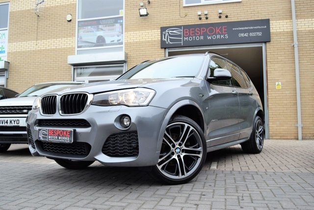 USED 2017 17 BMW X3 XDRIVE20D M SPORT AUTOMATIC