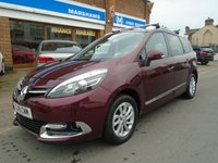 USED 2015 15 RENAULT GRAND SCENIC 1.5 DYNAMIQUE TOMTOM ENERGY DCI S/S 5d 110 BHP