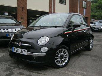2010 FIAT 500 1.2 C LOUNGE 3d 69 BHP £5495.00