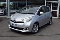 USED 2011 11 TOYOTA VERSO-S 1.3 VVT-I T SPIRIT 5d 98 BHP Full Length Pan Roof