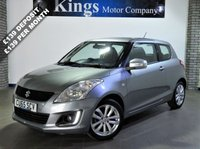 "USED 2015 65 SUZUKI SWIFT 1.2 SZ3 3dr Sat Nav, New Shape, £30 Tax, SAVE £££££""S ON New Price !!!"