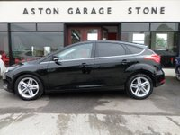 USED 2016 16 FORD FOCUS 1.5 TITANIUM TDCI 5d 118 BHP ** NAV * FFSH ** ** SYNC 2 NAV * APPEARANCE PACK **