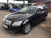 2010 MERCEDES-BENZ C CLASS 2.1 C200 CDI BLUEEFFICIENCY EXECUTIVE SE 5d 136 BHP £6590.00