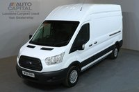 USED 2015 65 FORD TRANSIT 2.2 350 TREND 124 BHP L3 H3 LWB HIGH ROOF A/C ONE OWNER FROM NEW, L3 H3