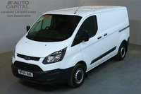 USED 2015 65 FORD TRANSIT CUSTOM 2.2 290 99 BHP L1 H1 SWB LOW ROOF    ONE OWNER FROM NEW, L1 H1