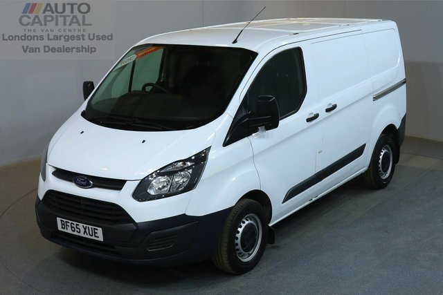 2015 65 FORD TRANSIT CUSTOM 2.2 290 100 BHP L1 H1 SWB LOW ROOF    ONE OWNER FROM NEW, L1 H1