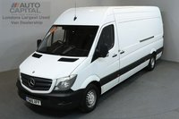 USED 2015 65 MERCEDES-BENZ SPRINTER 2.1 313 CDI 129 BHP LWB  ONE OWNER FROM NEW, SERVICE HISTORY
