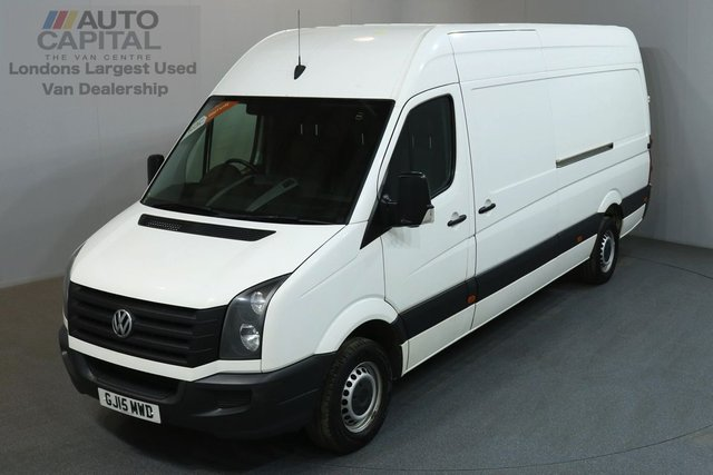2015 15 VOLKSWAGEN CRAFTER 2.0 CR35 TDI 135 BHP LWB HIGH ROOF  ONE OWNER, SERVICE HISTORY