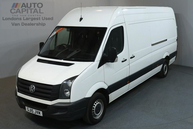 2015 15 VOLKSWAGEN CRAFTER 2.0 CR35 TDI 135 BHP L3 H3 LWB HIGH ROOF ONE OWNER, SERVICE HISTORY