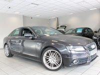 2010 AUDI A4 2.0 TDI S LINE 4d 170 BHP £8985.00