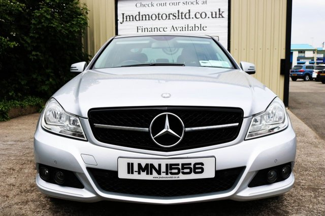 2011 MERCEDES-BENZ C CLASS C200 SOUTHERN REGISTERED! **9950 EURO** CDI BLUEEFFICIENCY  SE AUTO *NIGHT EDITION SPEC*